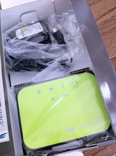 Biglobe WiMAX Aterm WM3600R